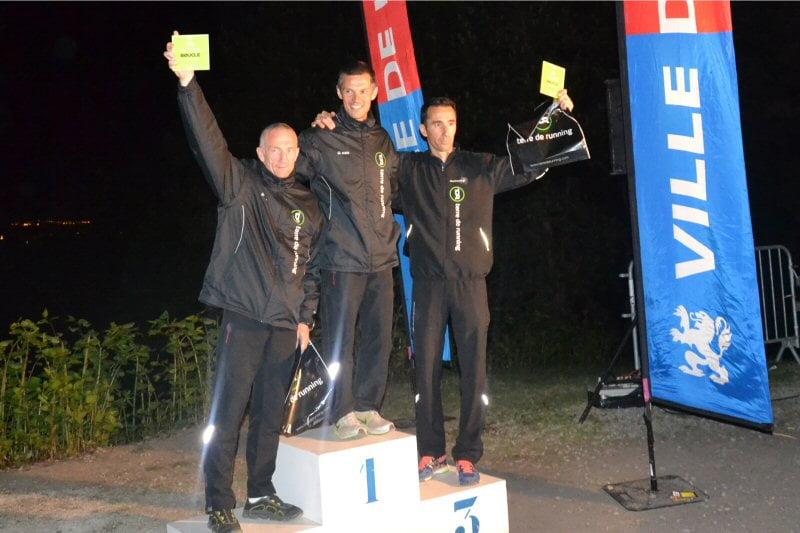 Podium Challenge Terre de Running du Meilleur Tour Equipe