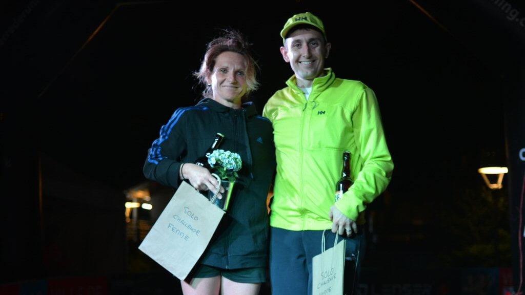 Podium Challenge Terre de Running du Meilleur Tour Solo