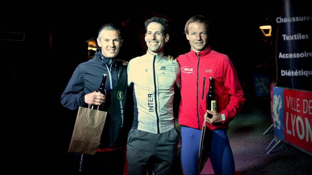 Podium Challenge Terre de Running du Meilleur Tour Relais 3
