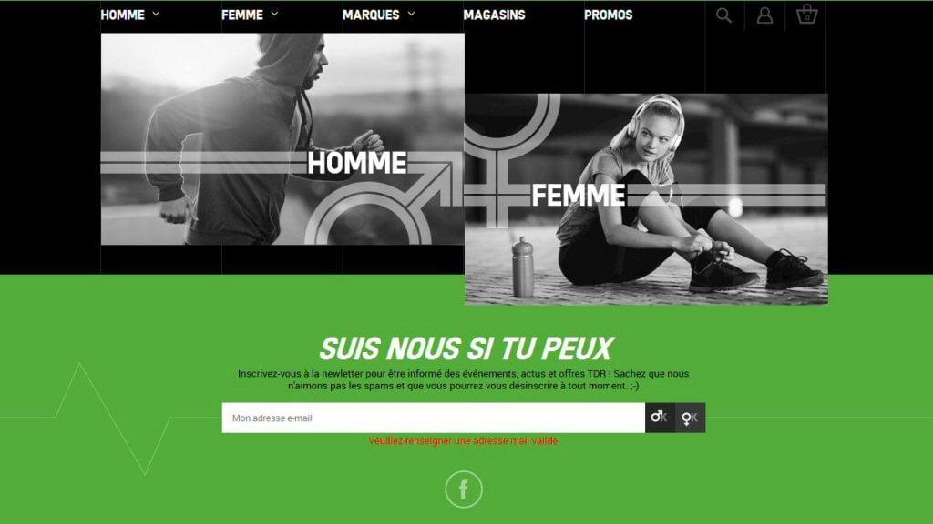 Nouveau site web Terre de running !