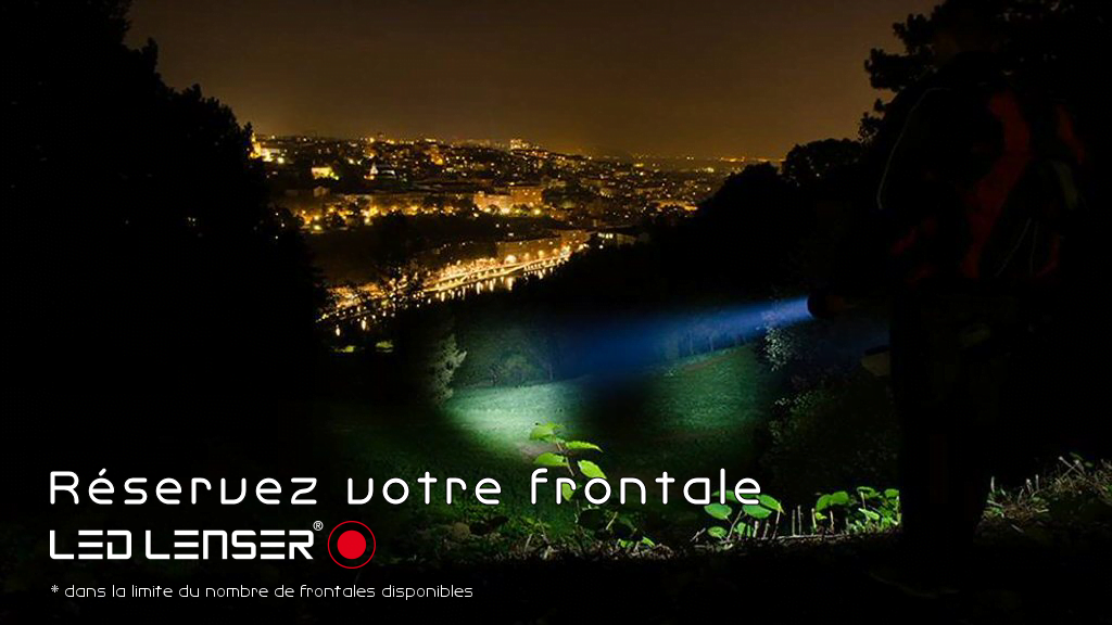 Si t'as pas ta frontale Led Lenser …