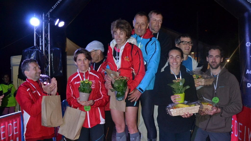 Podium 6h Relais 3 mixte